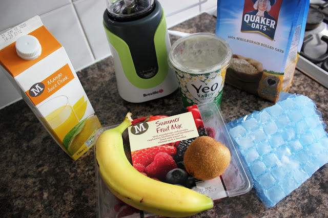 Breville Blend Active Breakfast Berry Smoothie Recipe