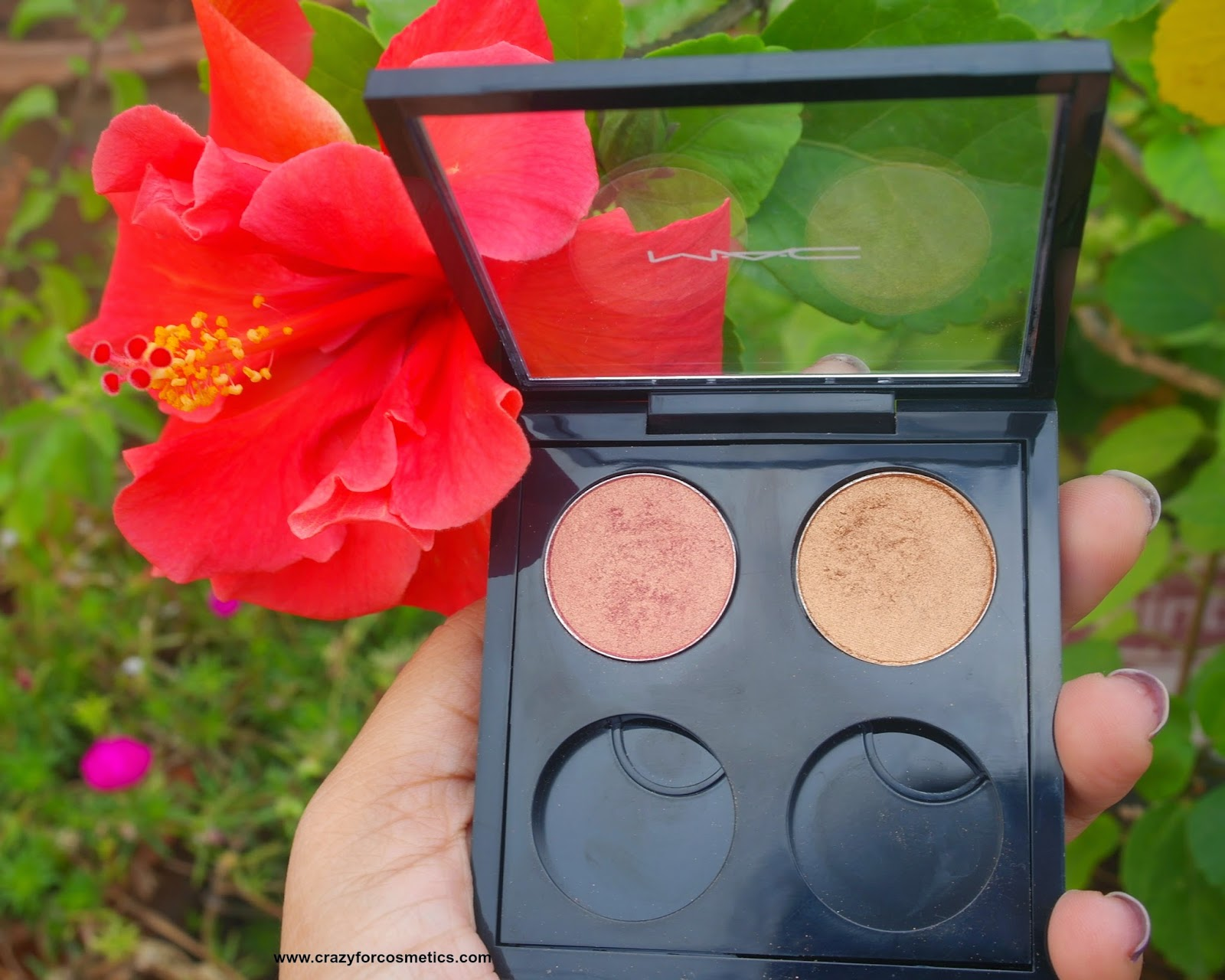 MAC Expensive pink eyeshadow review
