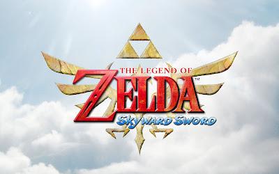 Logo de zelda skyward sword
