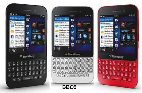 harga blackberry Q5