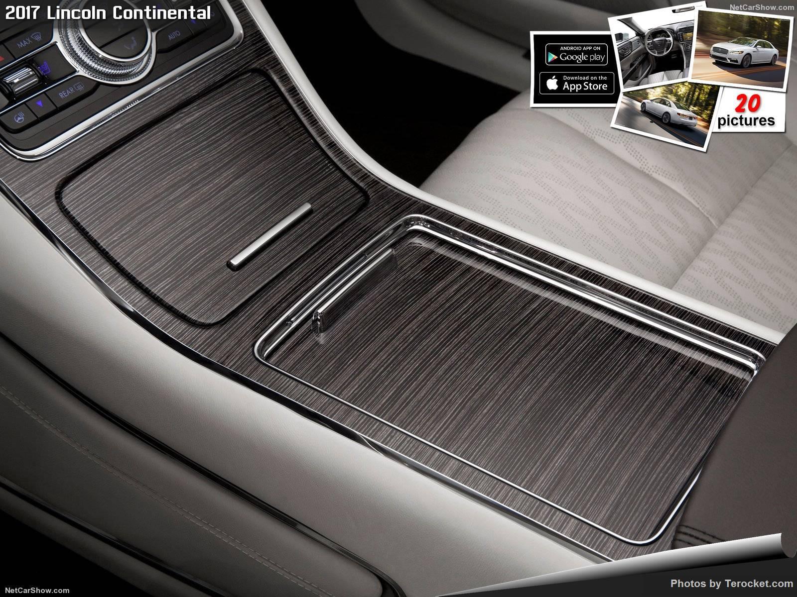 Hình ảnh xe ô tô Lincoln Continental 2017 & nội ngoại thất