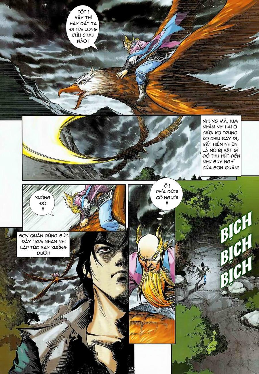 Thần Chưởng Long Cửu Châu chap 8 - Trang 29