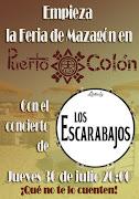 """Concierto de """"Los Escarabajos"""" en el chiringuito Puerto Colón"""