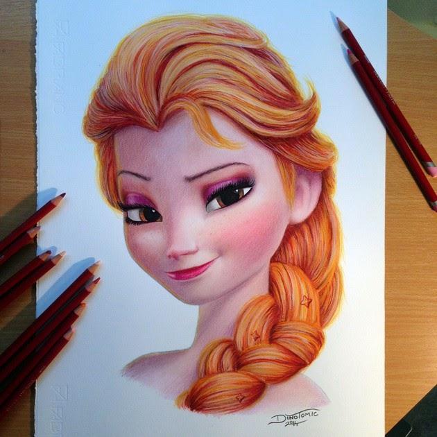 hyper realistic color pencil drawings
