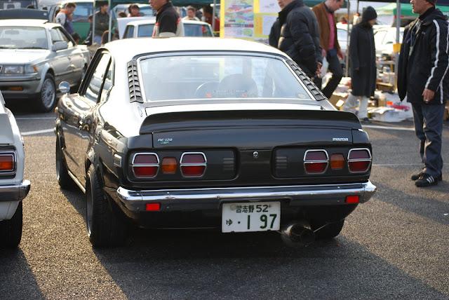 Mazda Savanna RX-3 stary japoński samochód oldschool klasyk sportowy