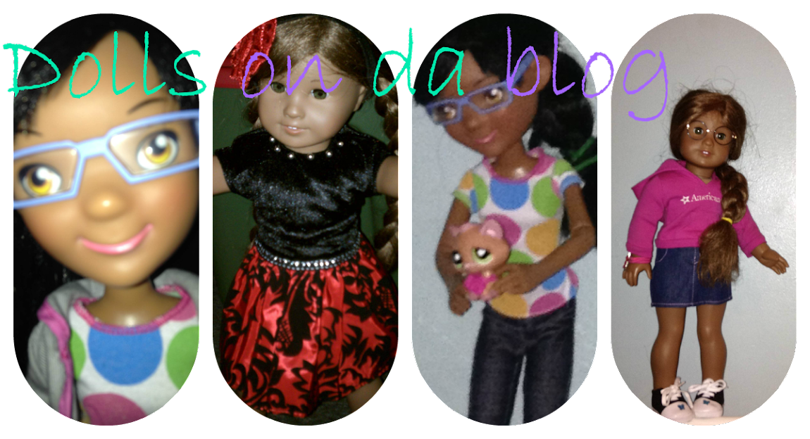 Dolls on da blog