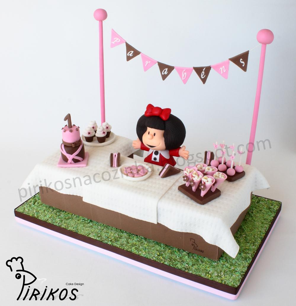 Pirikos cake design bolo mafaldinha prepara a festa for Design ideas facebook