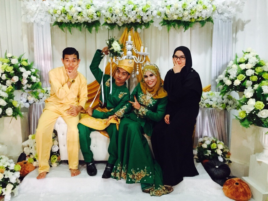 My weading at my house 5 Sept 2015