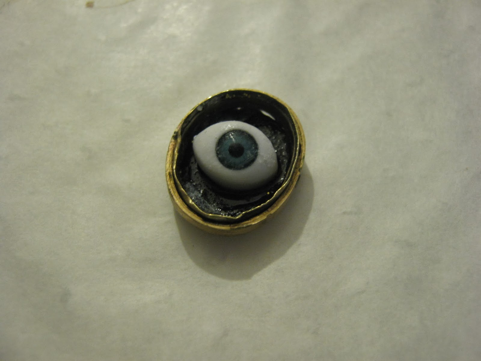 DIY Evil Eye Necklace