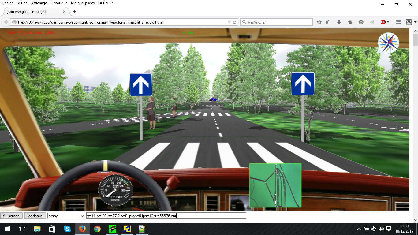 Openstreetmap 3d Car Driving Simulation Game Showcase Html5 Game
