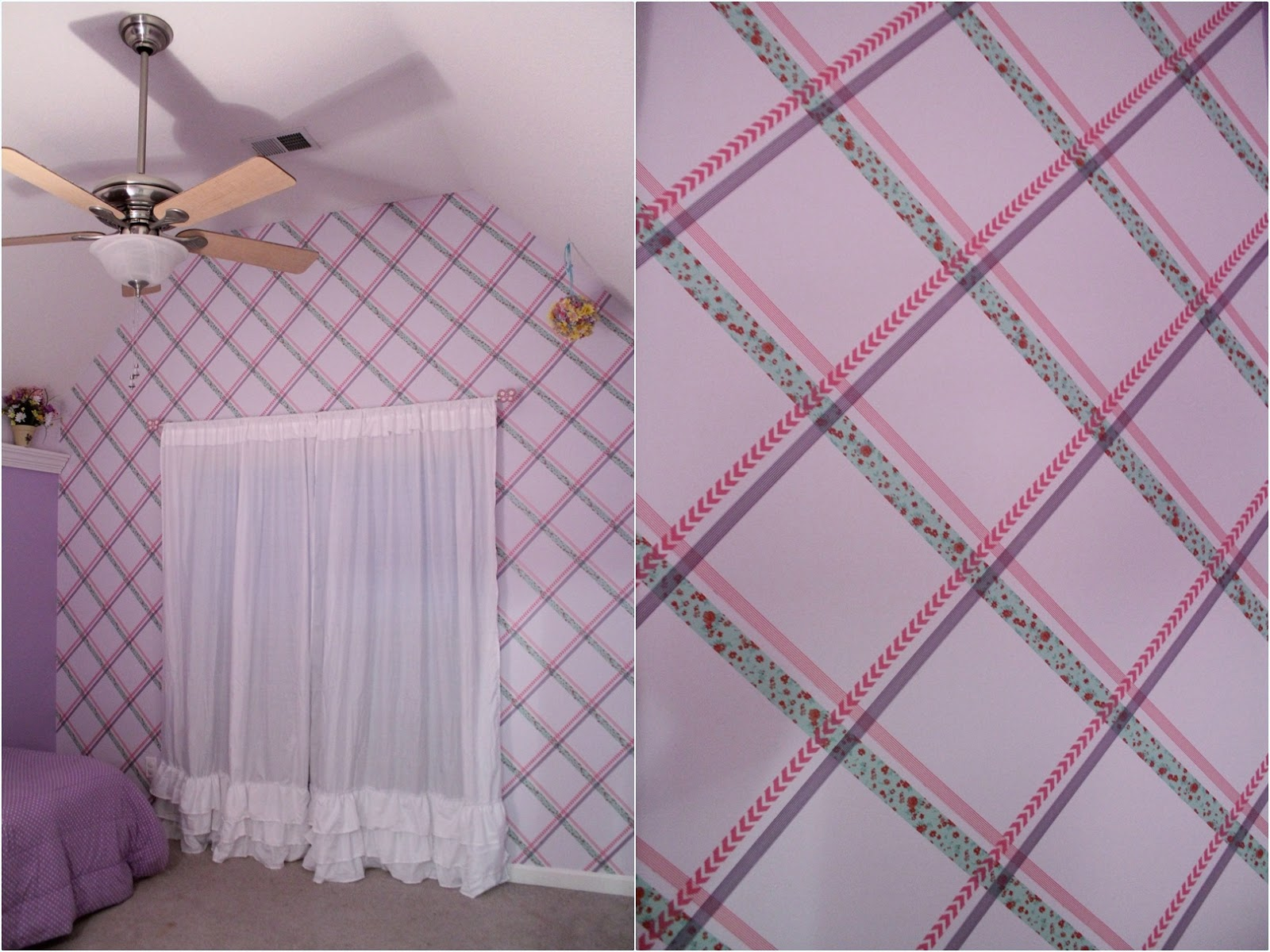 Round 2 projects and vote amy latta creations for Washi tape wall designs