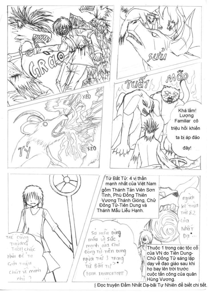 MASK The FiendHunter chap 2 - Trang 9