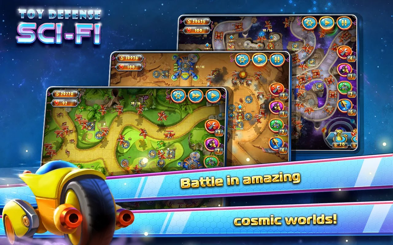 Toy Defense 4: Sci-Fi Strategy v1.6.0
