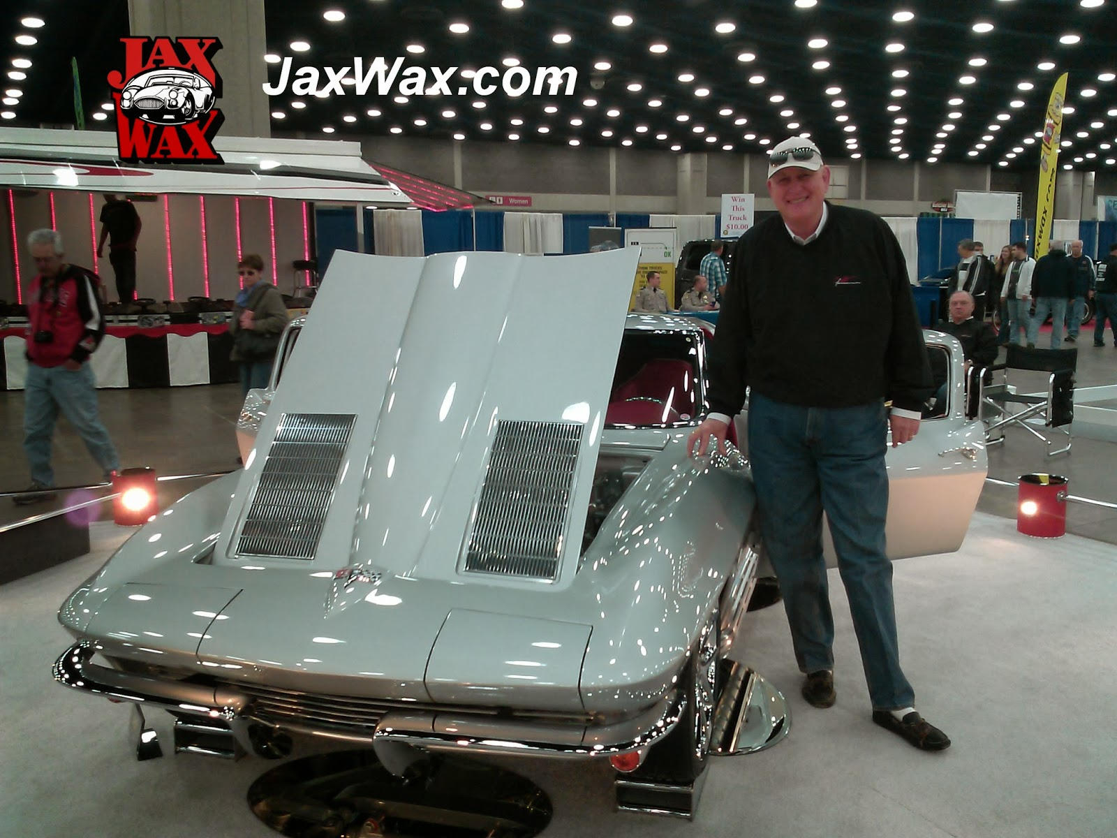 1963 Chevy Corvette Carl Casper Auto Show Jax Wax Customer