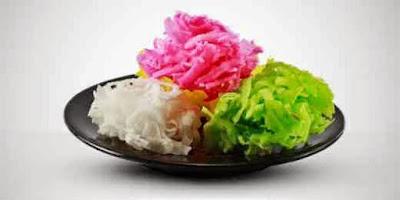 Resep Jajanan Pasar Tradisional Kembang Gula Kelapa