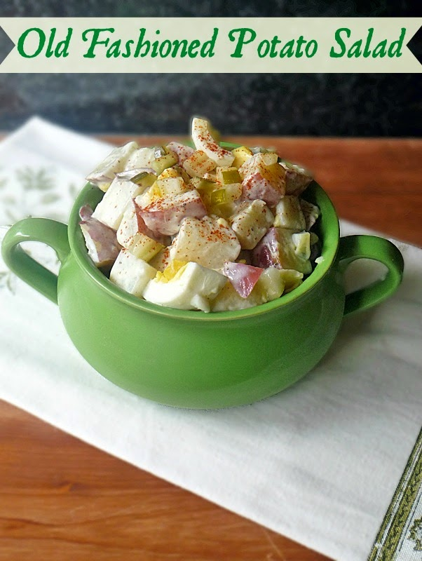 Old Fashioned Potato Salad | by Life Tastes Good is good 'ol summer comfort food y'all! Very satisfying and delicious! #SundaySupper #Picnic #Barbecue