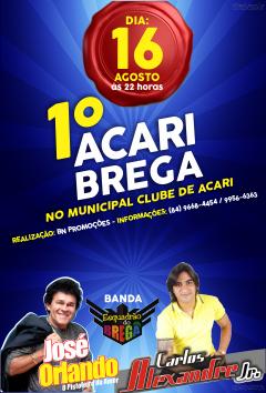 ACARI BREGA DIA 16 DE AGOSTO