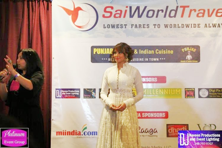 Bipasha Basu at an event in Detroit,USA