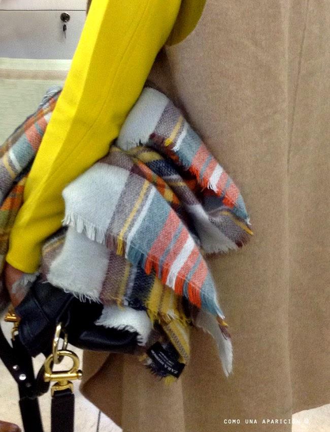 comounaaparición - streetstyle- moda- invierno - 2014- tartan