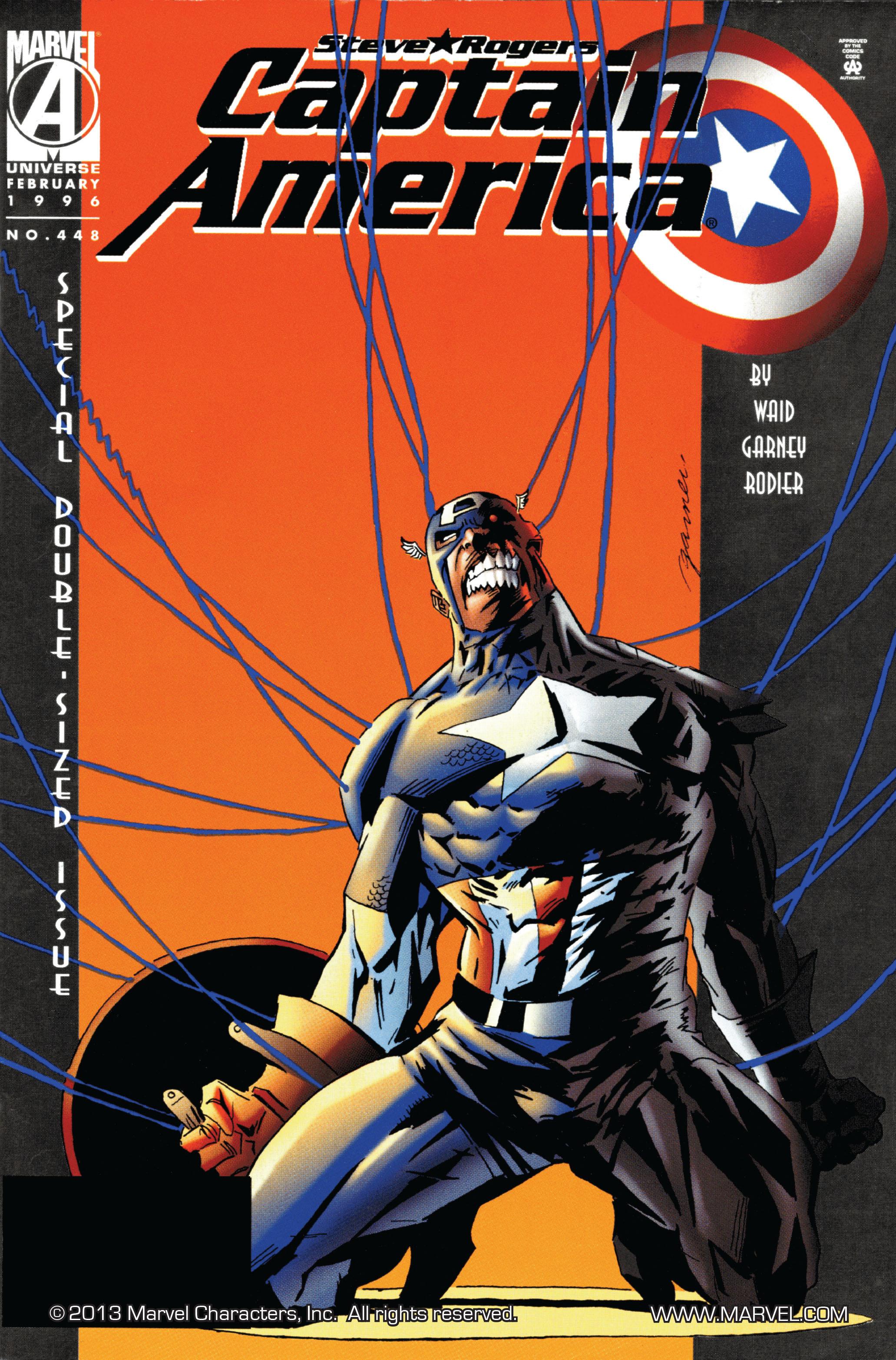 Captain America (1968) Issue #448 #402 - English 1