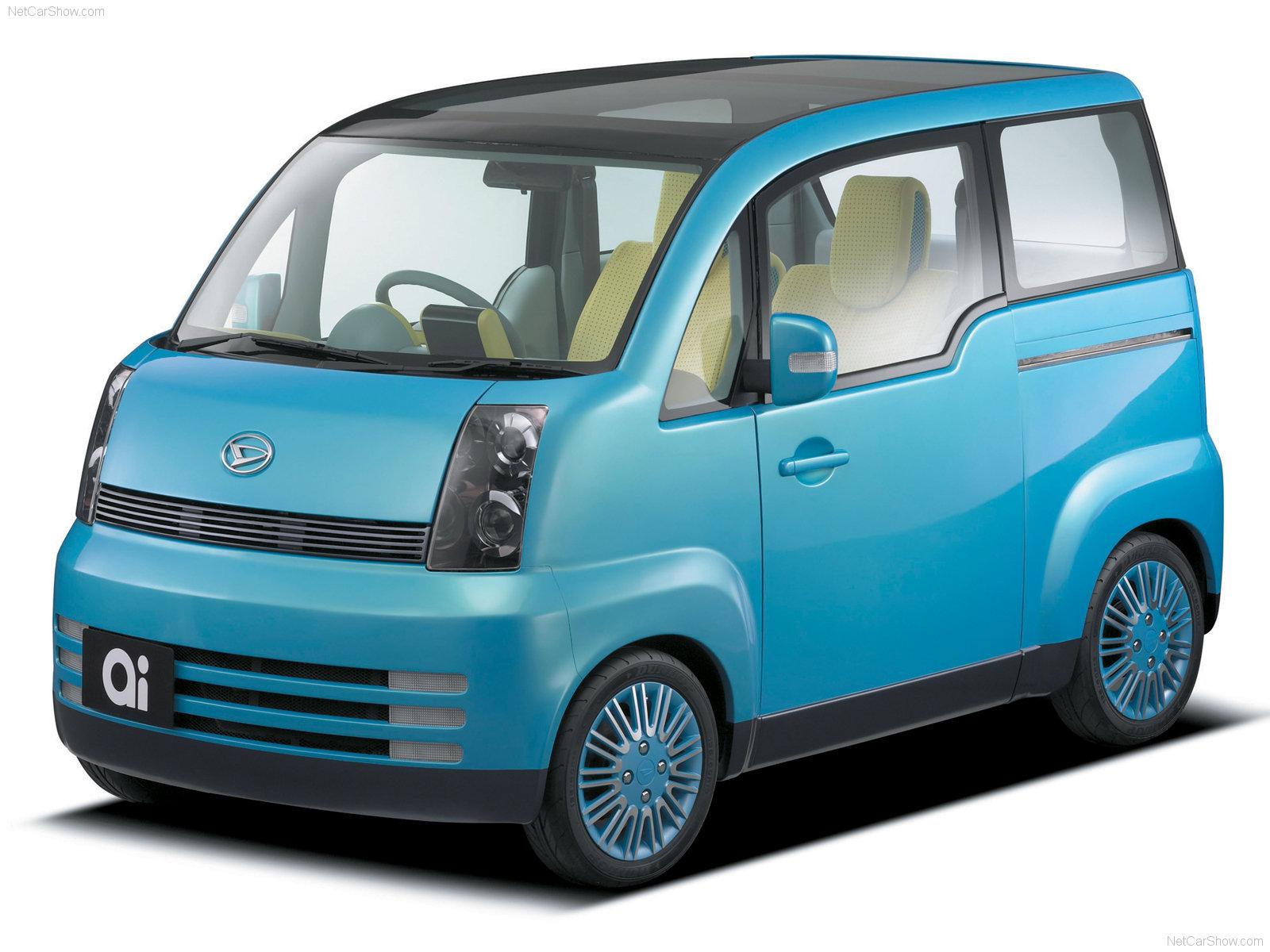Hình ảnh xe ô tô Daihatsu ai Concept 2003 & nội ngoại thất
