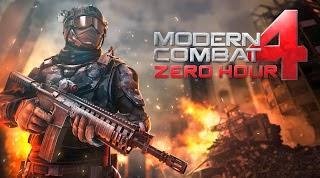 Modern Combat 4 Zero Hour 1.1.5 APK+DATA (No Root+Offline)