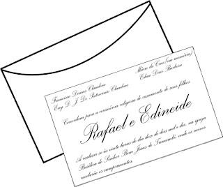 modelos de convites de casamento lindos