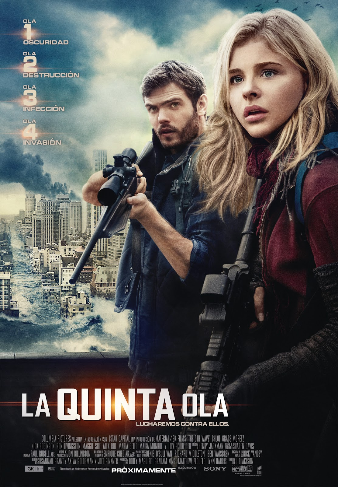 La quinta ola  (The 5th Wave) The Fifth Wave ()