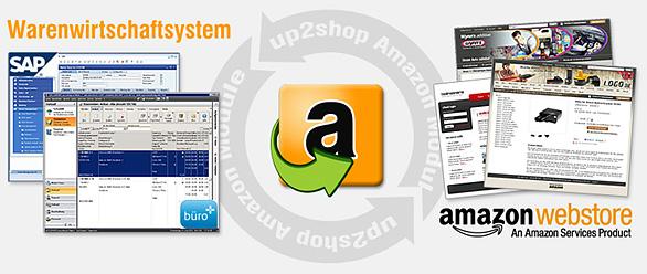 up2shop die Schnittstelle zum Amazon Webstore