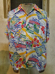 50's 「HARPER」 HAWAIIAN SHIRTS