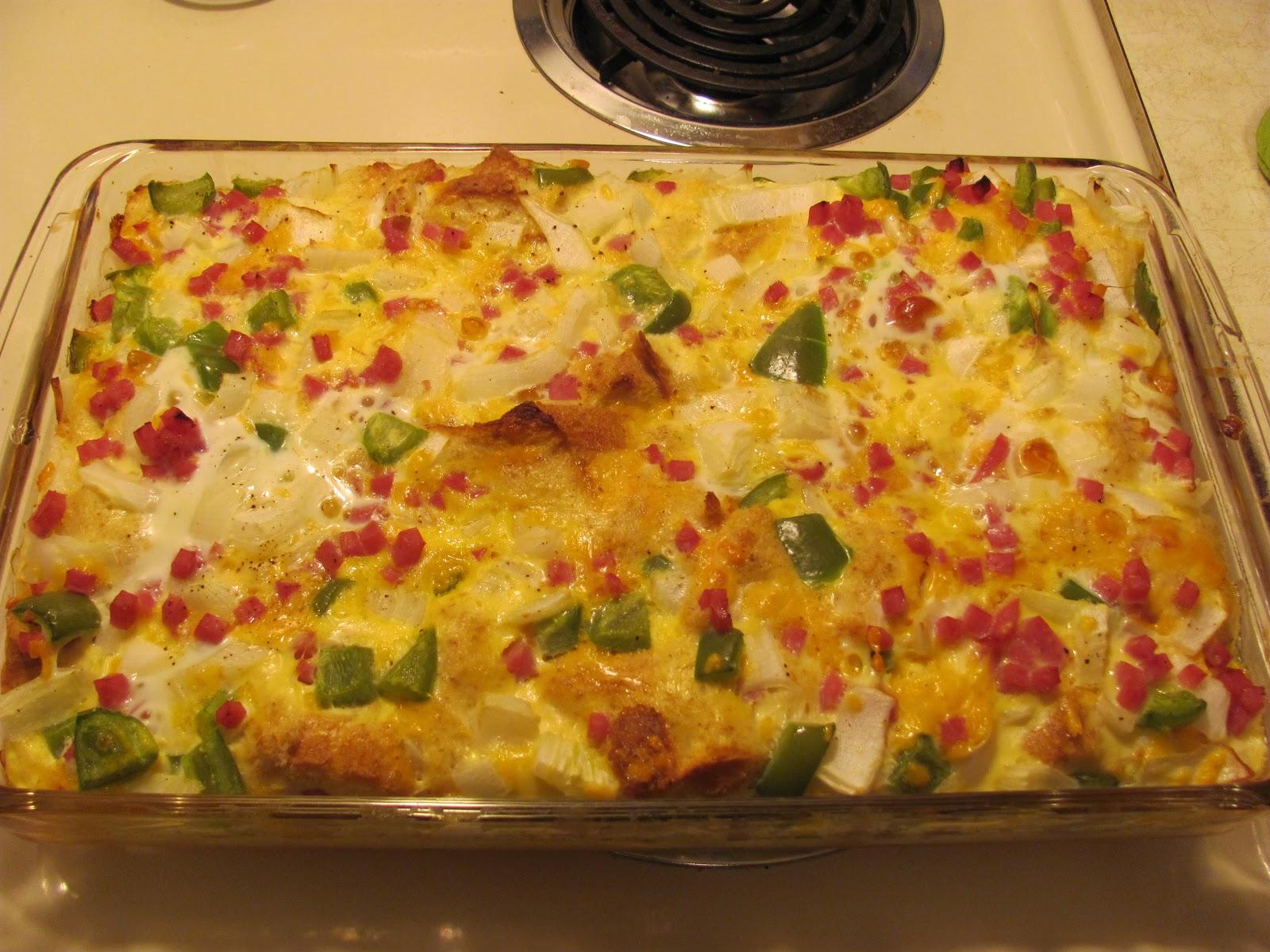 Thrifty Handy Mommy: Egg Bake: Denver Omelet Style!