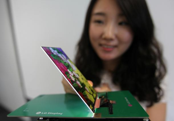 World's Thinnest LG Display