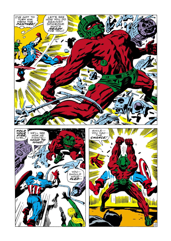 Captain America (1968) Issue #100 #14 - English 16