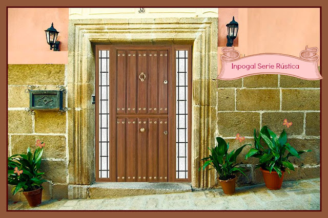 Puertas r sticas en aluminio - Puertas exterior asturias ...
