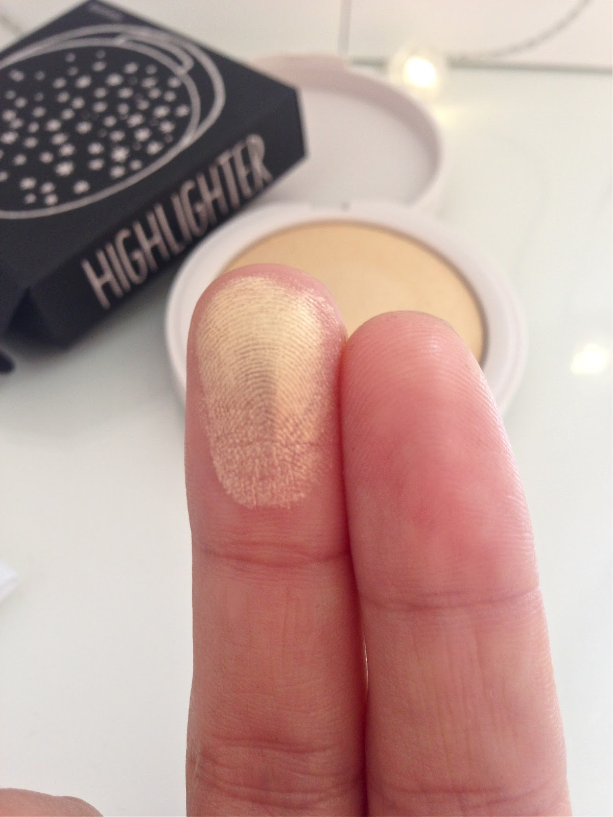 Topshop Highlighter in Sunbeam