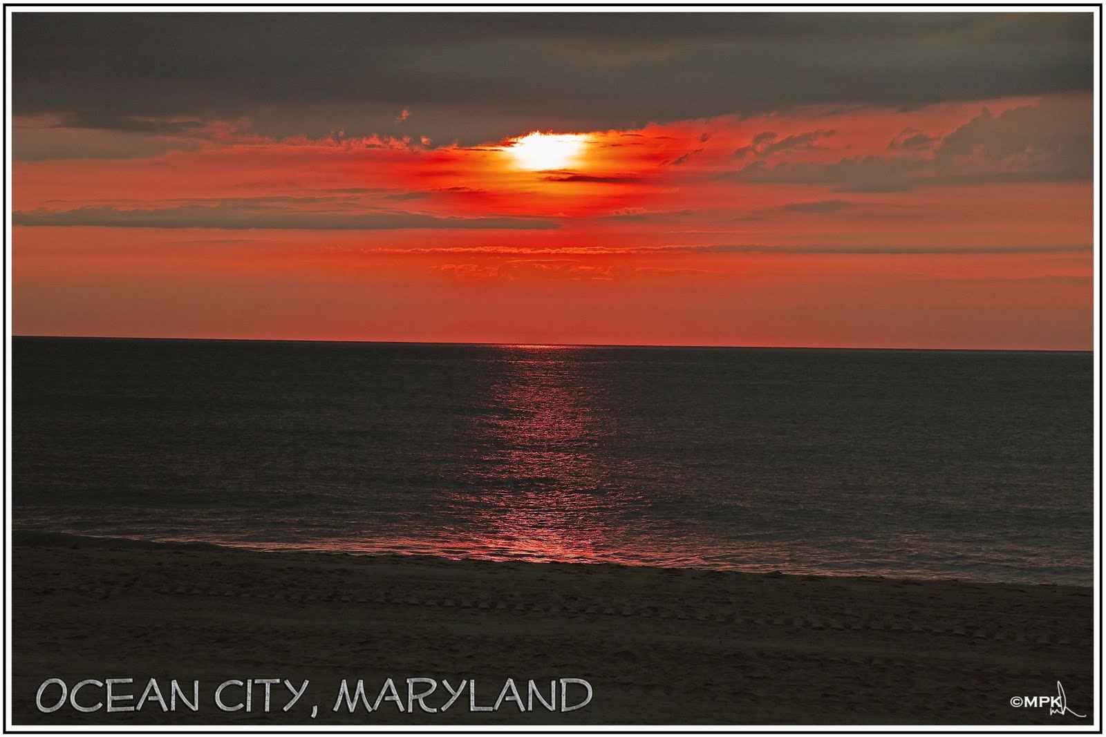 Ocean City Maryland In December