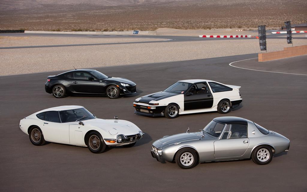 Scion FR-S, Toyota Corolla AE86, 2000GT, Sports 800, japoński sportowy samochód, JDM