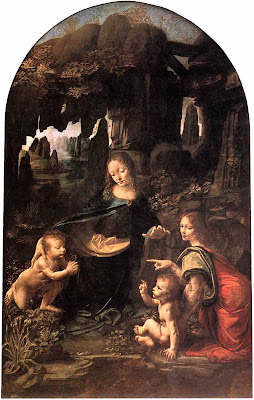 Virgin of The Rocks Da Vinci