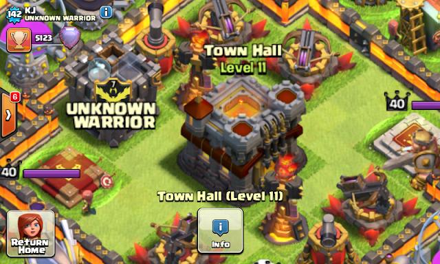 TH (Town Hall )  11 Resmi Di Rilis Oleh Super Cell