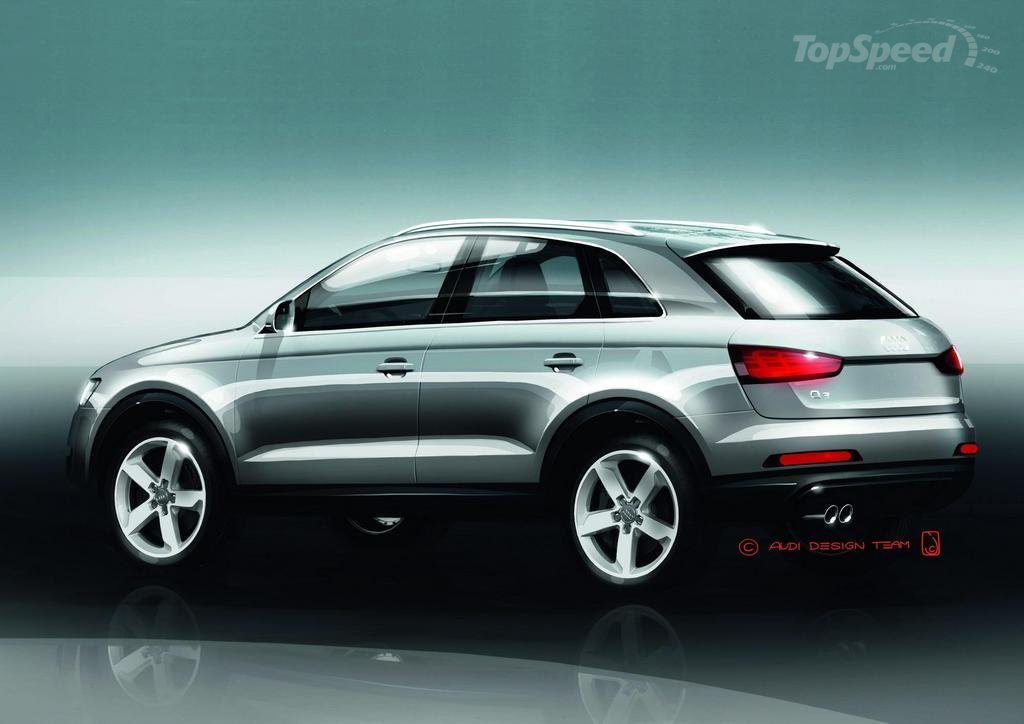 la nouvelle audi q3 tdi 2012. Black Bedroom Furniture Sets. Home Design Ideas