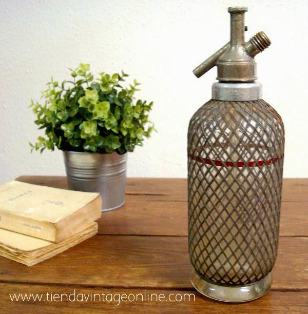 Sifones antiguos en valencia. botellas antiguas online de cristal