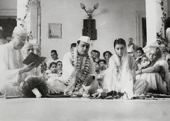 The_marriage_ceremony_of_Feroze_Gandhi_and_Indira_Gandhi