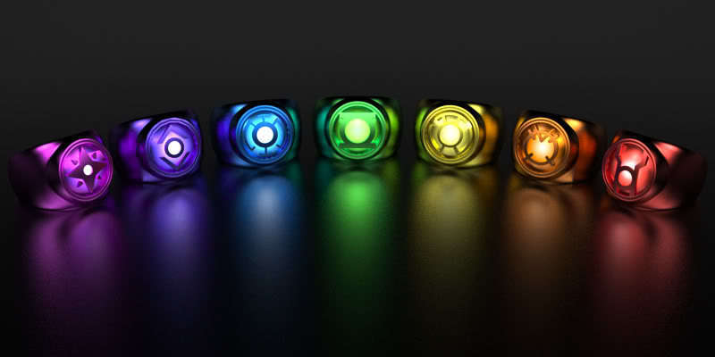 Planet Heroes: Lantern corps