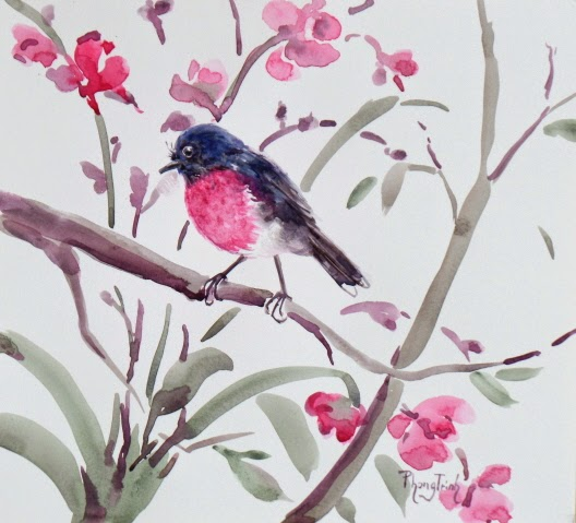 Wonderful Fine Art, Original Watercolor on paper, Available for Purchase