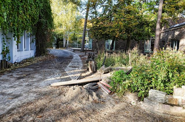 Baustelle Rudolf Steiner Schule Berlin e.V., Energetische Sanierung des Saalbaus, Auf dem Grat 1-3, Clayallee, 14195 Berlin, 18.10.2013