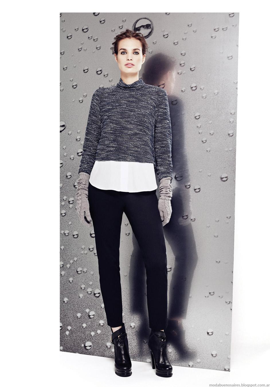 Moda otoño invierno 2014 Graciela Naum moda mujer invierno 2014.