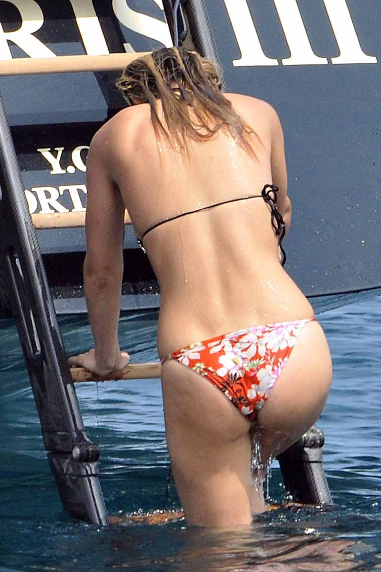 This Bar refaeli bikini ass were
