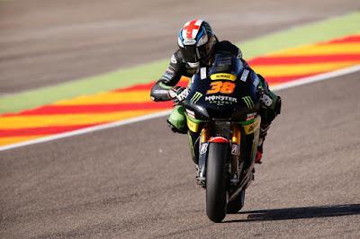 Smith Lengkapi Barisan Sempurna Pasukan Yamaha di Hari Pembuka GP Aragon