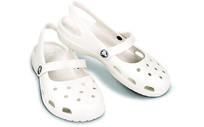 crocs shayna dla mamy  biale buty do wody i na plaze