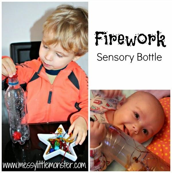 http://www.messylittlemonster.com/2014/11/firework-sensory-bottle.html
